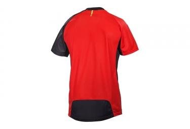 maillot manches courtes mavic 2017 crossmax pro rouge noir m