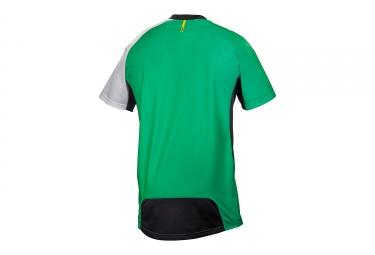 maillot manches courtes mavic 2017 crossmax pro vert blanc xl