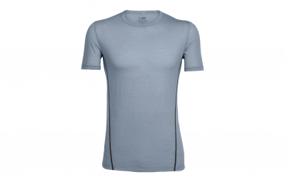 Maillot manches courtes icebreaker aero gris xl