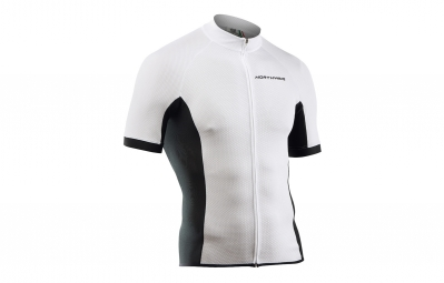 Maillot Manches Courtes Northwave Force Blanc 2017