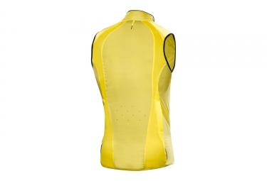 gilet coupe vent mavic 2017 cosmic pro jaune s
