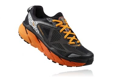 hoka challenger atr 3 orange noir 44 2 3