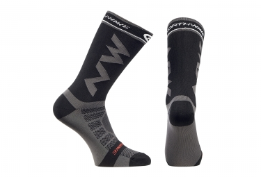Calcetines Northwave Extreme Light Pro - Gris / Noir