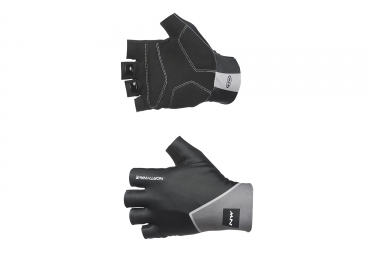 Gants Courts Northwave New Extreme Graphic Noir Gris 2017
