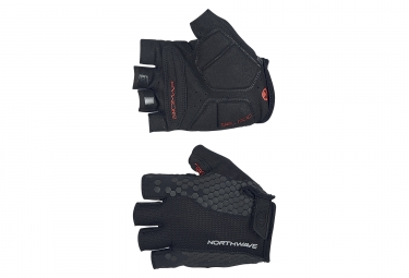 Northwave Evolution Short Gloves Black