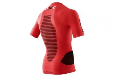maillot manches courtes x bionic effektor rouge m