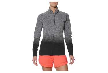 Asics Fuzex Performance Jacket Grey