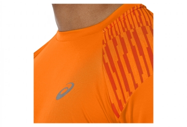 Maillot Manches Courtes Asics Fuzex Orange