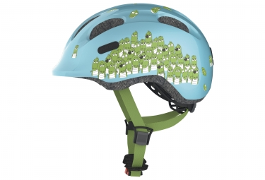 Casco per bambini Abus Smiley 2.0 Blue Crocodile