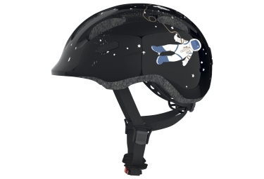Casque velo enfant abus smiley 2 0 black space noir m 50 55 cm