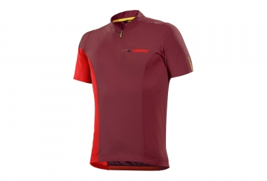 maillot manches courtes mavic 2017 xa pro rouge xl
