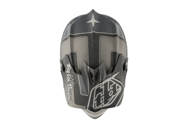 casque integral troy lee designs d3 carbon starburst mips argent noir 2017 l 58 59 cm