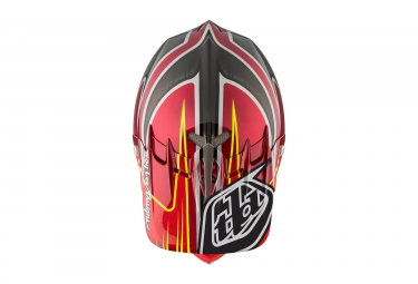 Casco Integral Troy Lee Designs D2 Pulse Noir / Rouge