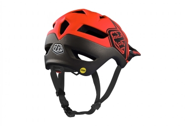 Casque Troy Lee Designs A1 Classic Mips Orange Noir