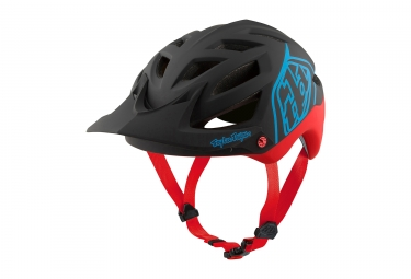 casque troy lee designs a1 classic mips noir rouge xs s 54 56 cm
