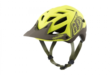 casque troy lee designs a1 classic mips jaune noir xl xxl 60 62 cm