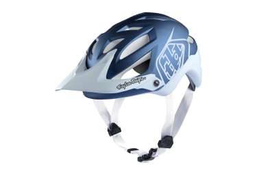 casque troy lee designs a1 classic mips bleu blanc xl xxl 60 62 cm