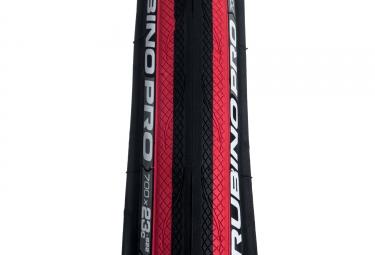 pneu vittoria rubino pro graphene noir rouge 23 mm