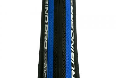pneu vittoria rubino pro graphene noir bleu 25 mm