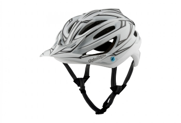 Casque troy lee designs a2 pinstripe mips blanc reflechissant 2017 xs s 54 56 cm