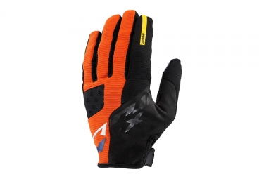 Paire de gants longs mavic 2017 crossmax pro orange noir s