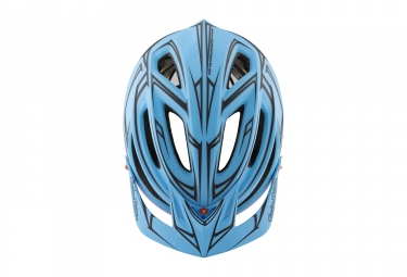 casque troy lee designs a2 pinstripe mips bleu orange 2017 m l 57 59 cm