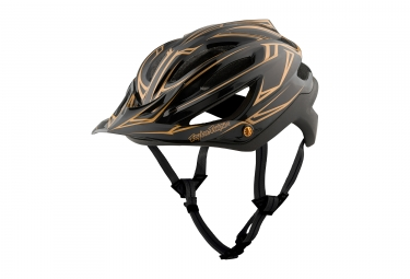 Casque Troy Lee Designs A2 Pinstripe Mips Noir Or 2017