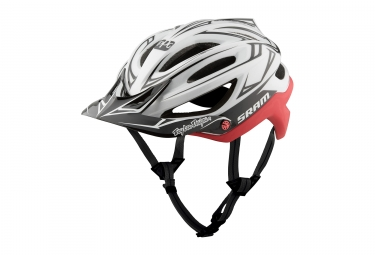 Casque troy lee designs a2 sram mips blanc rouge 2017 xl xxl 60 62 cm