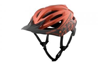 Casque troy lee designs a2 decoy mips orange gris 2017 xl xxl 60 62 cm
