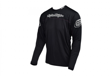 Troy Lee Designs Sprint Long Sleeve Jersey Black 2017