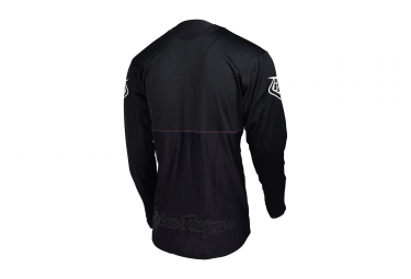 Maillot Manches Longues Troy Lee Designs Sprint Noir 2017