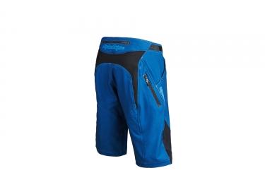 short avec peau troy lee designs ruckus bleu 34