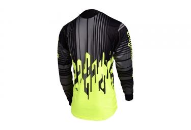 maillot manches longues troy lee designs sprint code jaune noir 2017 xxl