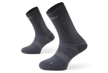 Paire de chaussettes bv sport double grey 42 44