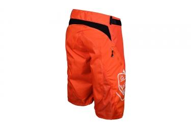 short troy lee designs sprint orange 2017 32