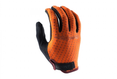 gants longs troy lee designs sprint orange 2017 xl