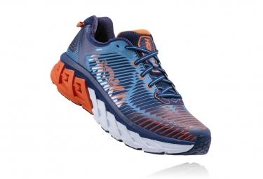 Chaussures de Running Hoka One One Arahi Bleu / Orange