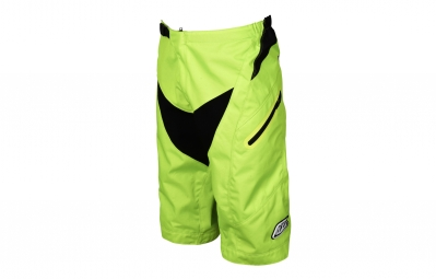 Short troy lee designs moto jaune fluo 2017 30