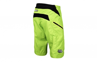 short troy lee designs moto jaune fluo 2017 32