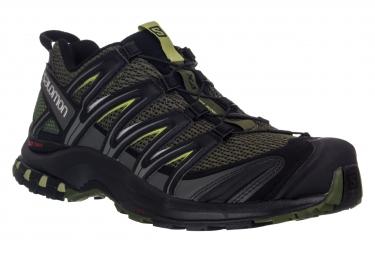 SALOMON Shoes XA PRO 3D Black Green
