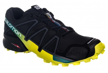 salomon speedcross 4 noir jaune 43 1 3