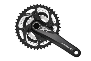 Shimano XT M780 10 Speed Triple Crankset - 24/32/42t Black