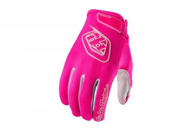 Gants longs troy lee designs air rose 2017 l