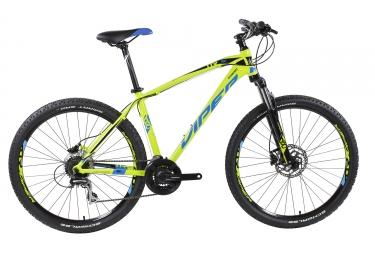 Velo complet 2017 viper tr150 27 5 shimano acera 8v vert bleu xl 187 197 cm