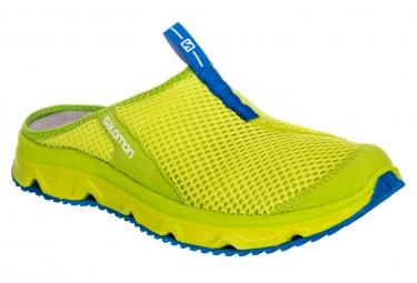 chaussures de recuperation salomon rx slide 3 0 vert 46