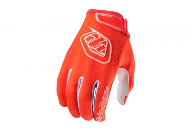 gants longs troy lee designs air orange fluo 2017 xxl