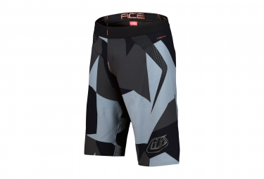 short avec peau troy lee designs ace 2 0 gris noir 2017 32