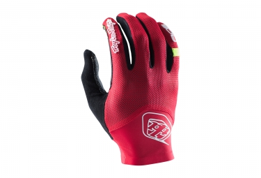 gants longs troy lee designs ace 2 rouge 2017 s