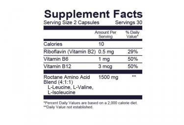Complements Alimentaire GU BCAA 60 Capsules