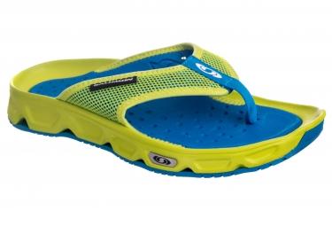 chaussures de recuperation salomon rx break bleu vert 40 2 3